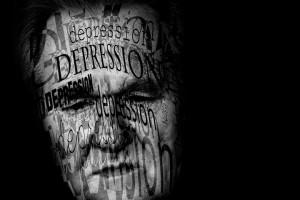 Billedet forestiller en mand med PTSD. Siden handler psykiatriske lidelser samtidig med PTSD.